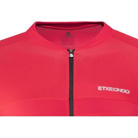 Etxeondo Maillot M/C Mendi Kortærmet cykeltrøje Herrer rød/sort